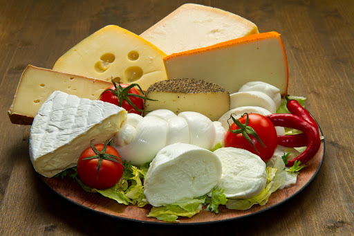 Affettati di formaggi misti